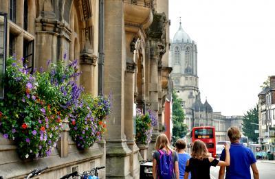 2019 初めての母娘旅はイギリス! 3.「夢見る尖塔の都市」オックスフォードに憧れて…