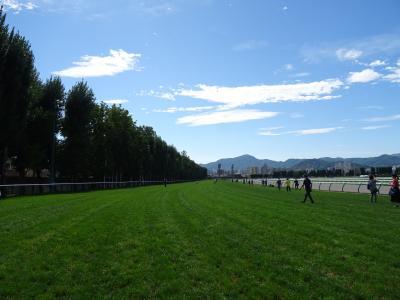 JRA札幌競馬場 芝コース1周ウォーク