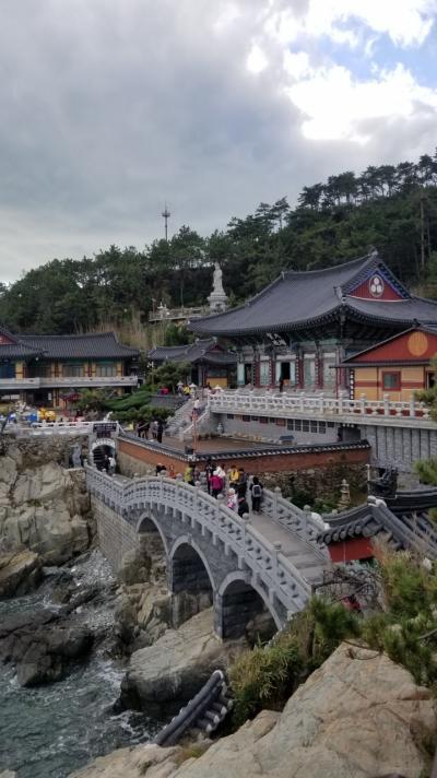 秋の釜山 気まぐれひとり旅 ① 1日目 食べまくり~2日目 海東龍宮寺