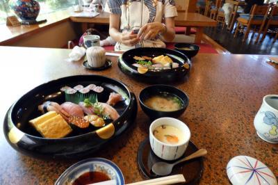 プリンスバケーションクラブ三養荘に泊まる中伊豆1泊 ひょうたん寿司 長岡本店の昼食