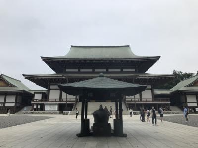 2019 9月 成田山新勝寺早足巡り