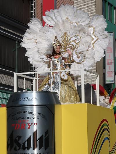 浅草Samba 16 アサヒサンバチーム B ☆アサヒビール(株)が特別協賛/Parade半ば