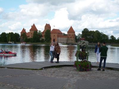 9月 バルト3国の旅 ③リトアニア トラカイ城