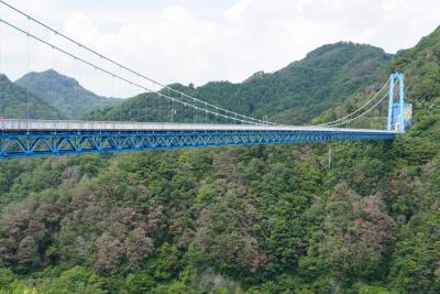 龍神大吊橋&袋田の滝