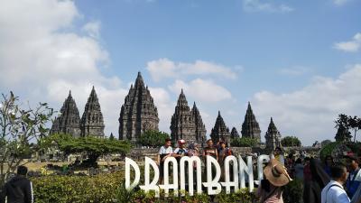 インドネシア ジョグジャカルタ、スマランの旅 その2(ボロブドール遺跡、ケプランバナン寺院遺跡群編)