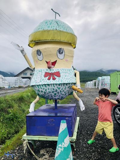 2019親子3人旅①北海道へ行ってみよー!富山空港と富良野と札幌編