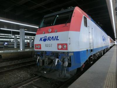 第49回海外旅/パンスタークルーズ[往路]&ソウル・その4.ムグンファ号で5時間25分の鉄旅.ソウルへ。