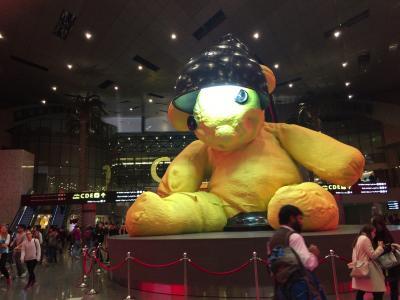 ドーハの熊は背丈も値段も高かった 2016