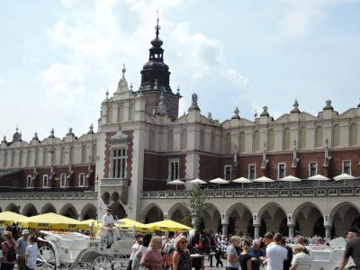 2019年夏 スロバキア・ポーランド旅行 古都クラクフ(ポーランド)1