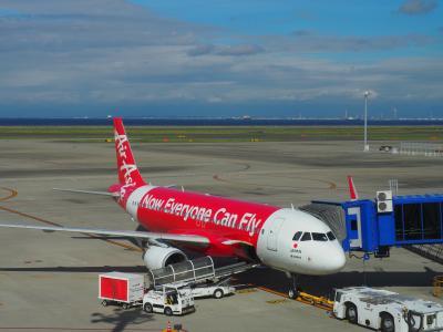 2019.09 東北へ、三陸へ(1)エアアジア・ジャパンで仙台空港へやってきた。