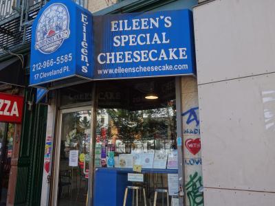 NYCを歩く。(6.1) 伝説のチーズケーキをもとめて,Spring St. まで。このチーズケーキはまさにスペシャルです。