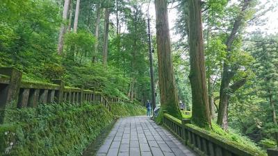 9月に榛名神社へ行きました。