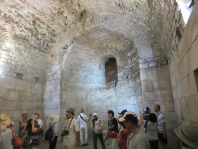 麗しきクロアチア④古代ローマの街スプリット