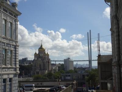 ロシア ウラジオストクの旅 入国から市内へ