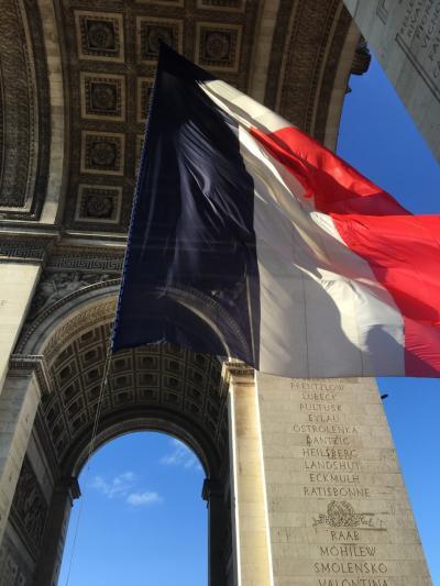 [2019年 夏休み] (1) 娘と2人で、まずは パリ