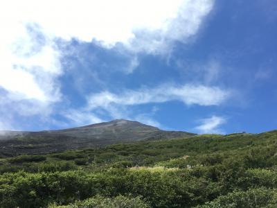 夏の終わりに富士登山