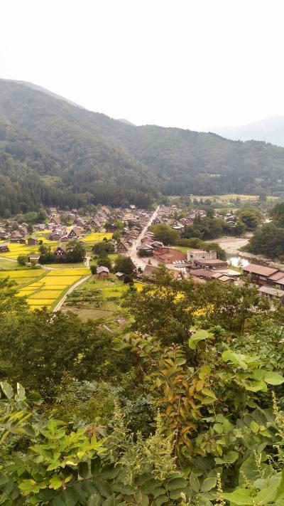 2019年9月飛騨高山・白川郷