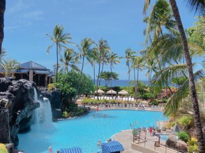 2019 ハワイの夏休み③ 5日目☆ハワイ島へ ヒルトンワイコロアビレッジ HGVオーシャンタワーペントハウスに泊まる