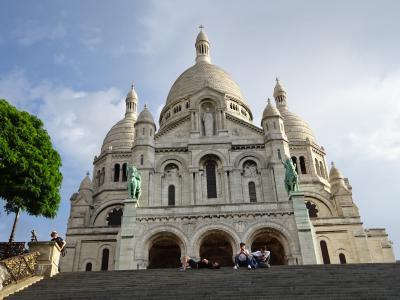 行きはビジネス、帰りはファースト 王道 ロンドン~パリ  サクレクール寺院 モンマルトル ショッピング~帰国へ⑬