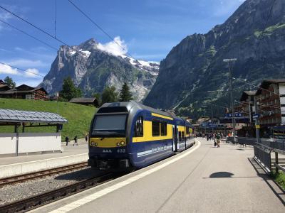スイス アルプスの絶景とパリ、ウィーン観光18日間①