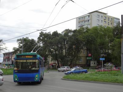 ウスリースクからバスでウラジオストクへ