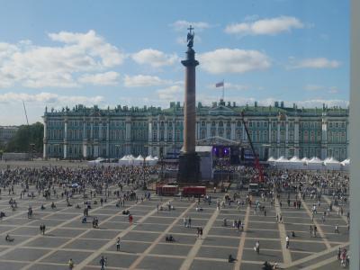 ちょっと早めの夏休みでロシア旅行 その4 エルミタージュ美術館新館の見学の後にトラブル発生!