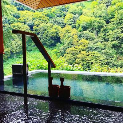 「延対寺荘」宇奈月温泉の歴史ある旅館♪夏休み3泊4日!2泊3日目♪
