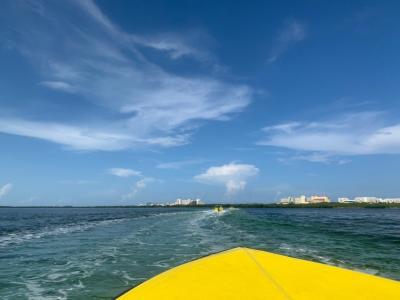 カンクン  カップル旅行 ♡  day 2 自分でボートを運転  ジャングル  シュノーケリング