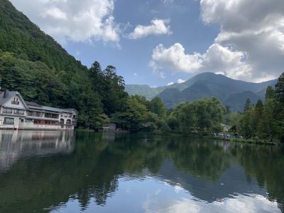 大分湯布院で温泉入って、長崎教会巡りと食べ歩き①湯布院とちょこっと福岡