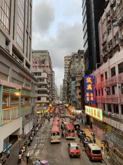 2019夏香港、マカオ家族旅行①日目