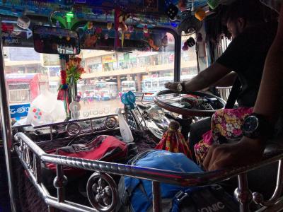 スリランカの旅。ネゴンボからシギリヤへ移動編