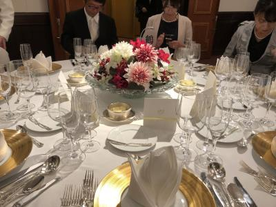 行きは京成踏切事故の影響、帰りは台風の影響、帝国ホテルでの甥の結婚式参列珍道中 その1