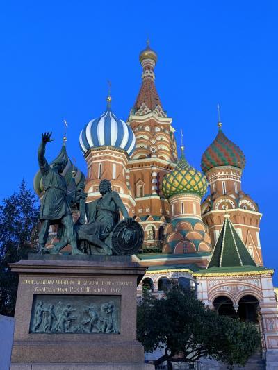 ロンドン・パリ二都を巡るひとり旅① モスクワをトランジット観光編