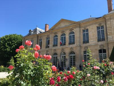 2019夫婦パリ旅行⑤庭園が美しいロダン美術館から奇跡のメダイユ教会へ