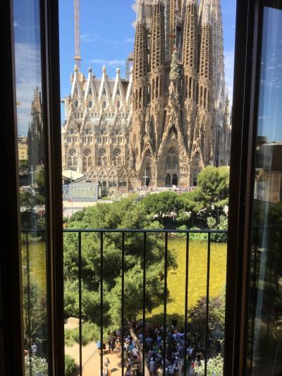 [2019年 夏休み] (3) バルセロナで ガウディズ・ネストに泊まろう