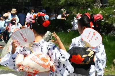 島田髷祭り