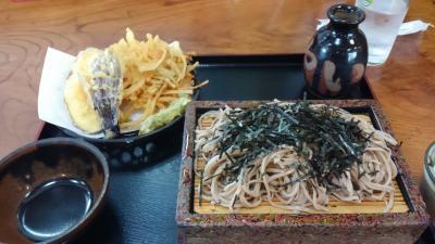 出流山(いづるさん)万願寺と蕎麦を頂く。