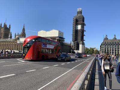 ロンドン・パリ二都を巡るひとり旅② 1日目ロンドン