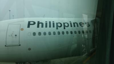 フィリピン航空国内線でセブからマニラへ