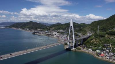 生口橋,国内4位の斜張橋【しまなみ海道、橋と島めぐり】夏旅3000キロ2019