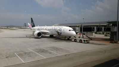 ANA直行便でクアラルンプールから羽田へ!