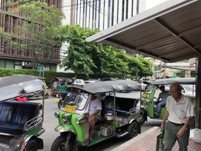 エアアジアで行く2019夏休みのバンコク④最終日は街スパで癒される