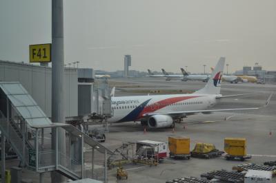 【ワンワールドで行くラウンジの鬼!東南アジア周遊旅行】(2-3)超短距離線!マレーシア航空MH608便ビジネスクラス搭乗記