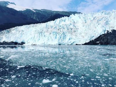 個人旅行で秋のアラスカ!②アンカレジからスワード(イグジット氷河などなど)