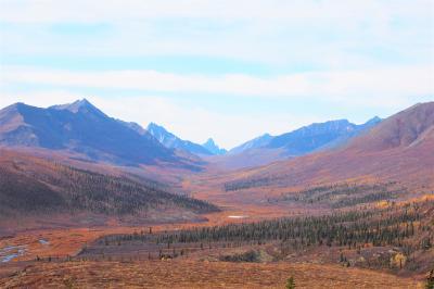 2019秋の米国アラスカ州とカナダ・ユーコン準州 ドライブ(その4:トゥームストーン準州立公園)