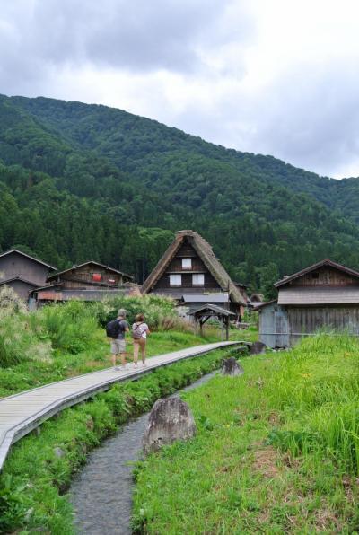 2019夏旅の後半は、1泊2日で富山~白川郷へ(2日目 夏の終わりを感じて・・白川郷散策)