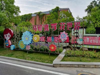 世界最大の花のテーマパーク マルコポーロ花世界楽園に行くとレッドカーペットが敷かれ♪2019年6月中国 揚州・鎮江7泊8日(個人旅行)105