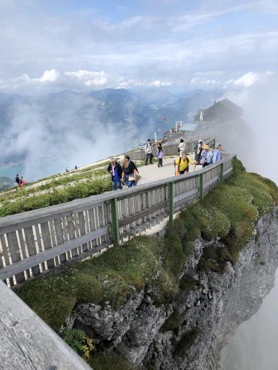 オーストリア:インスブルックからウィーンまで   シャーフベルク山、ヴォルフガング湖(5)