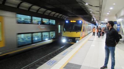 シドニー到着 Opal(オパール)カードを購入し電車で市内へ