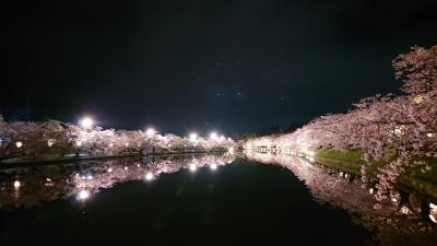 弘前城の桜筏が見たくて2泊3日の親娘旅